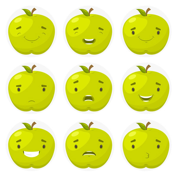 Apple emoticons Icon