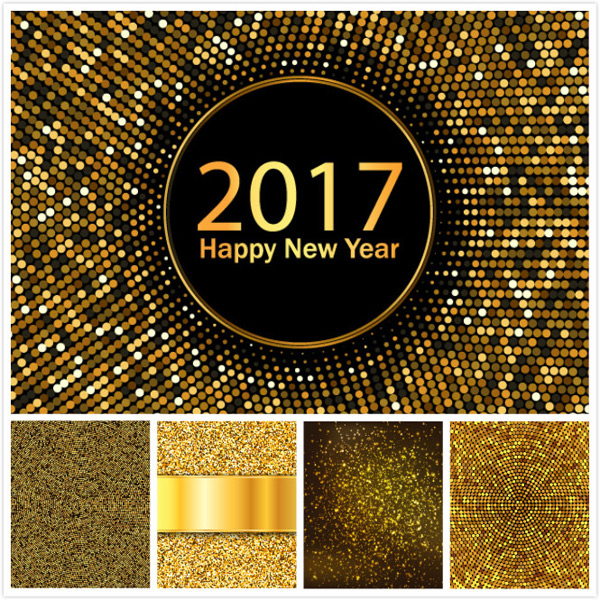 Background vector of sequins
