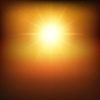 Brilliant sunshine background