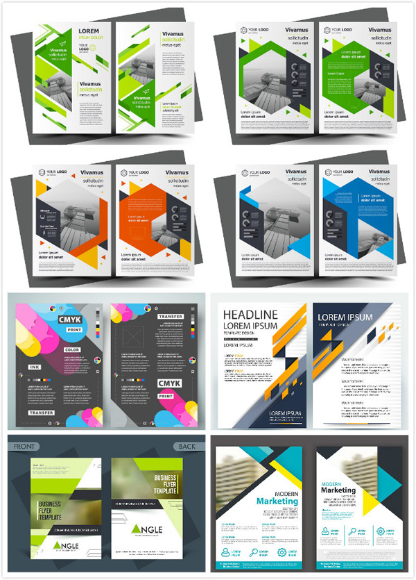 Business single page template