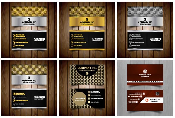Business style cards