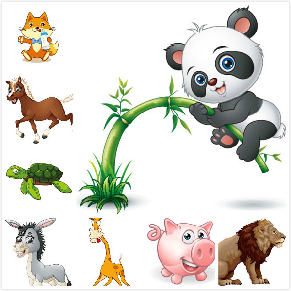 Cartoon animal vector