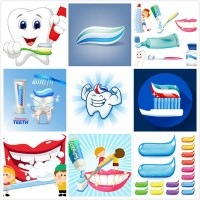 Cartoon teeth theme