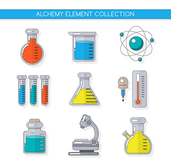 Chemical research instrument elements