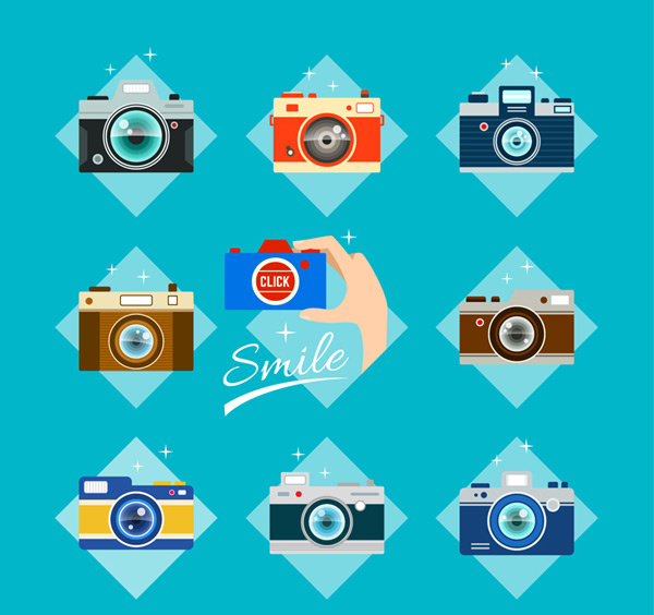 Color camera vector