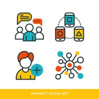 Communication and social Icon