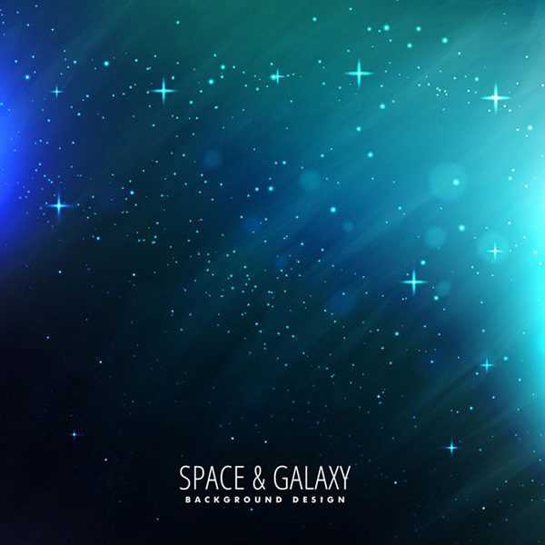 Cosmic starry sky background