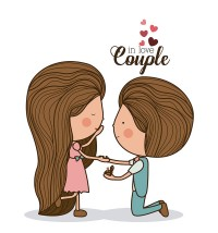 Courtship cartoon image