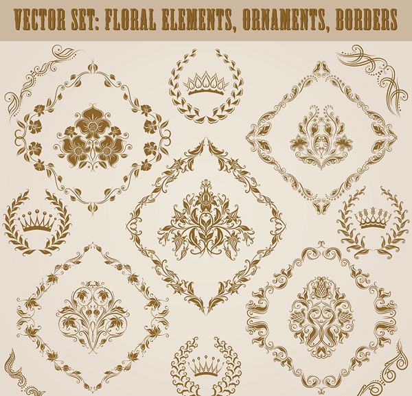 Decorative pattern border