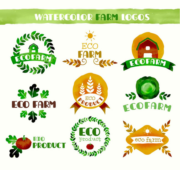 Eco farming label