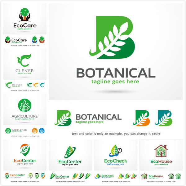 Environmental protection logo vector