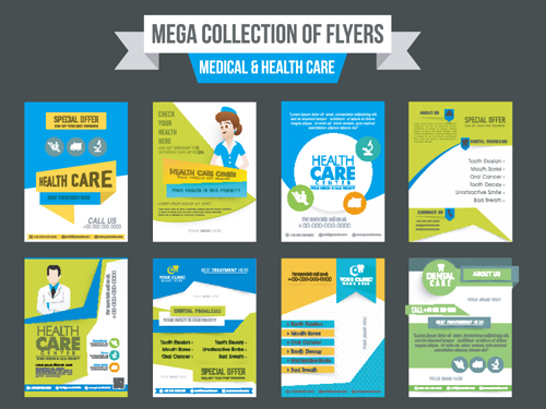 European and American Medical leaflets