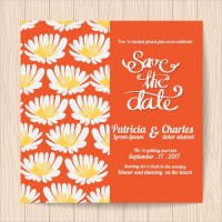 European and American style invitation letter