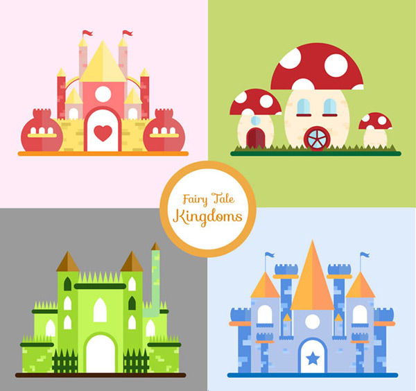 Fairy world Kingdom Castle