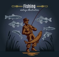 Fishing man s cover