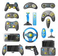 Game handle vector