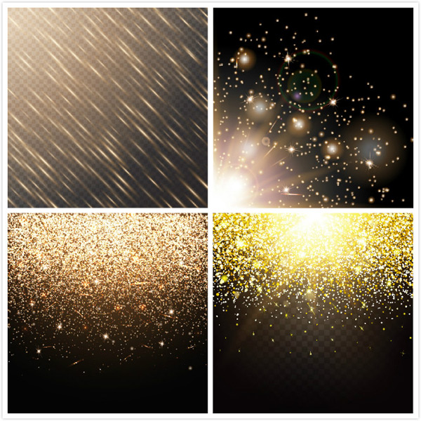 Glitter particle background