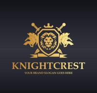 Golden Knight Shield logo