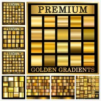 Golden gradient texture background