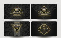 High grade pattern VIP card