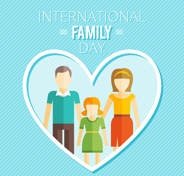 International Family Day card