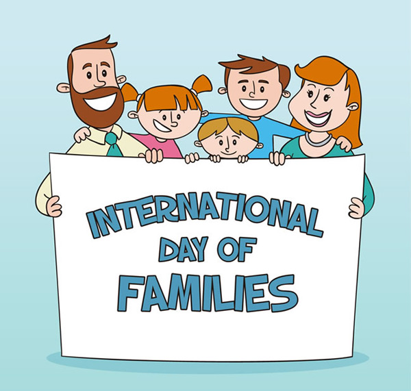 International family day photo