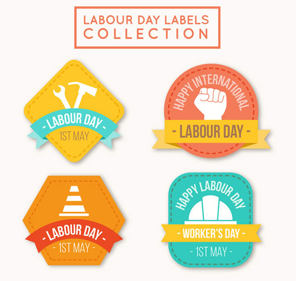 Labor Day Tags