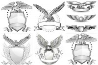 Line Eagle Badge