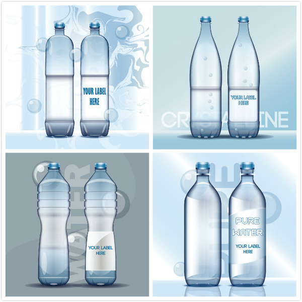 Mineral water bottle packing