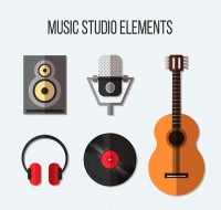 Music Studio elements