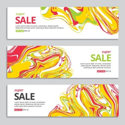 Promotional BANNER vector