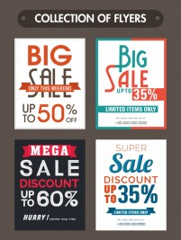 Promotional discount leaflets