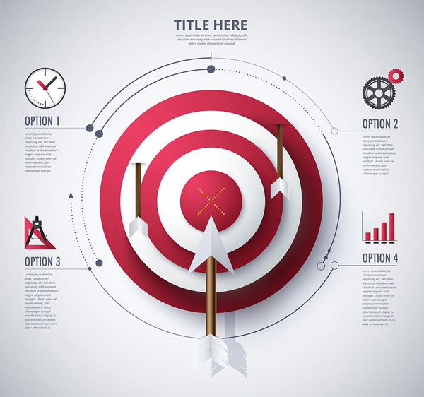 Ring target ppt chart
