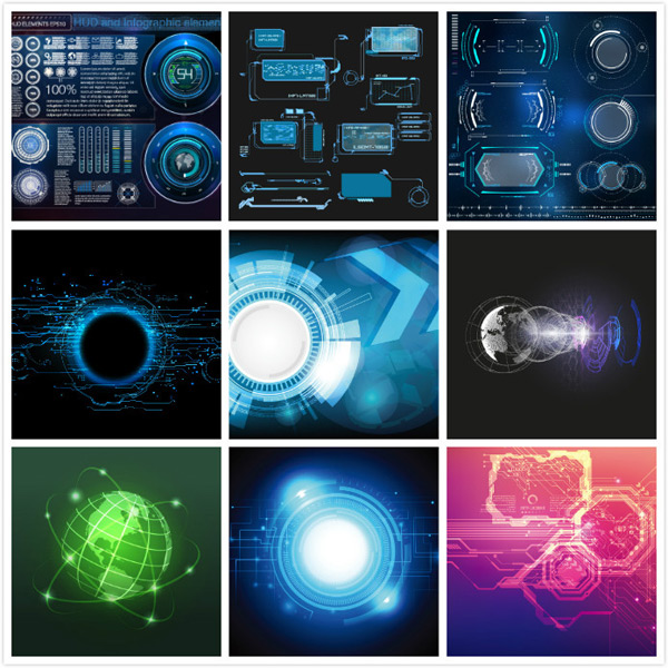 Scientific Graphics Vector