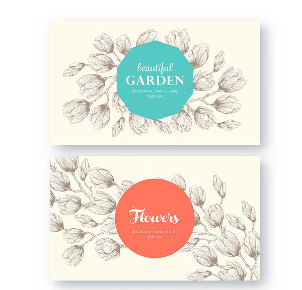 Shading pattern invitation cards