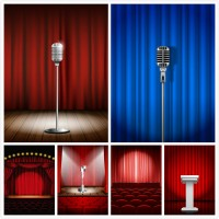 Stage vector material