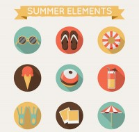 Summer element icon