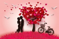 Valentine s Day Poster vector