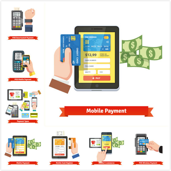 Wireless payment vector