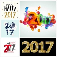 2017 new year numbers