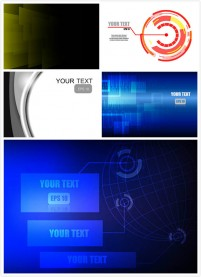 Abstract background of business technology