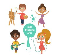 Art children vector
