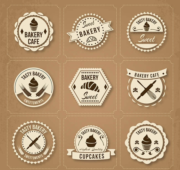 Baking food labels