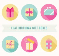 Birthday gift box Icon