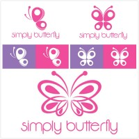 Butterfly theme logo