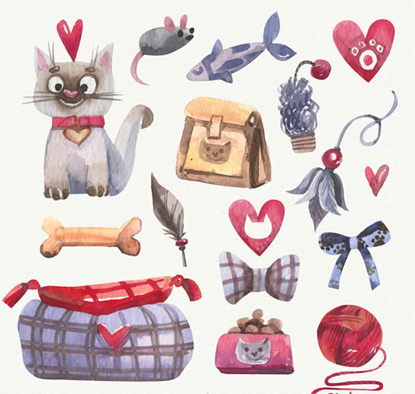 Cats and pet products