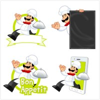 Chef vector material