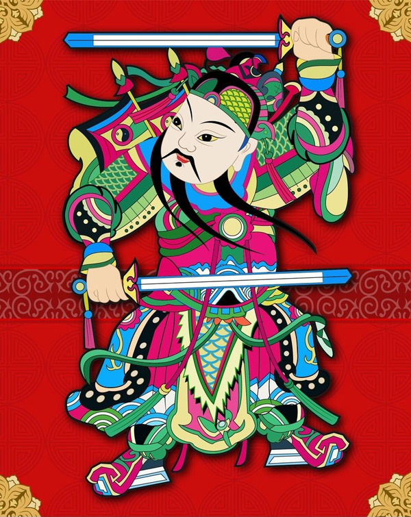 China Cech New Year paintings