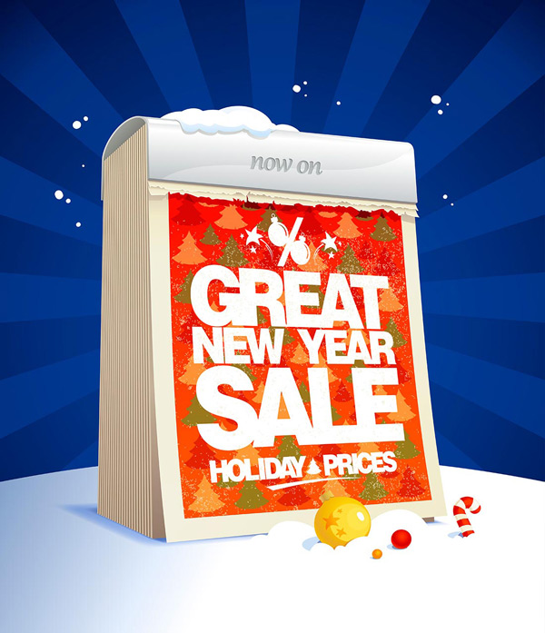 Christmas discount Poster