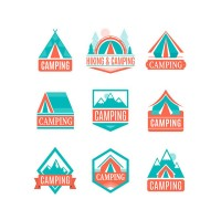 Color camping tag